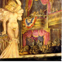 Reginald Marsh (1898-1954) | Star Burlesque | Tempera on Masonite Panel, 48 x 36 inches | Signed and dated Reginald Marsh 1933 lower right | Private Collection